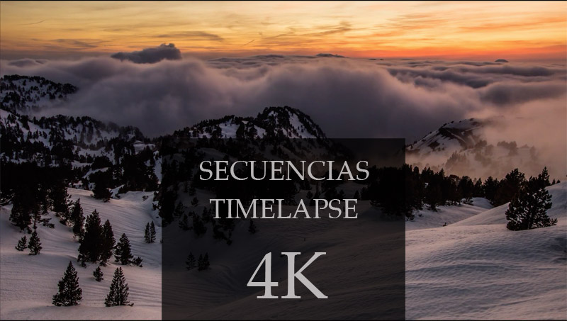 Stock Secuencias Timelapse 4K